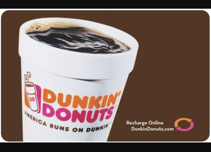 #Coupons #GiftCards Dunkin Donuts $52 Gift Card #Coupons #GiftCards