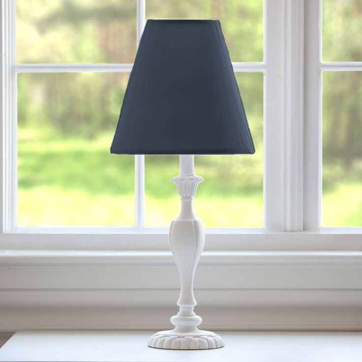 Solid Navy Lamp Shade #carouseldesigns