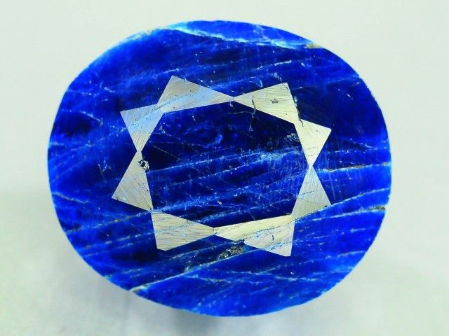 Rare 7.6 ct Natural Electric Blue Hauyne L.7 Collector's Gem