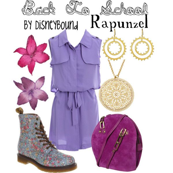 YAY!! A Rapunzel outfit that's more my style!! The dress, the shoes, the bag!