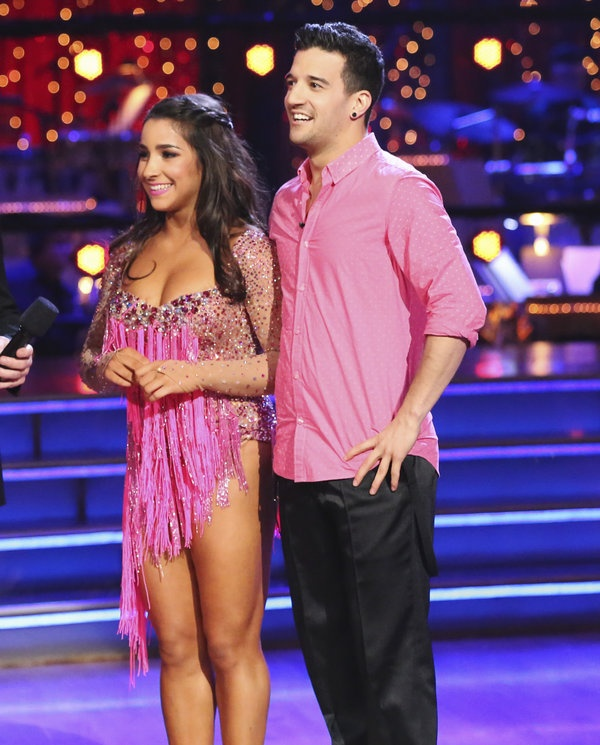 Mark Ballas  & Aly Raisman -  Dancing With the Stars  -  1st night   -  Season 16  -   Spring 2013