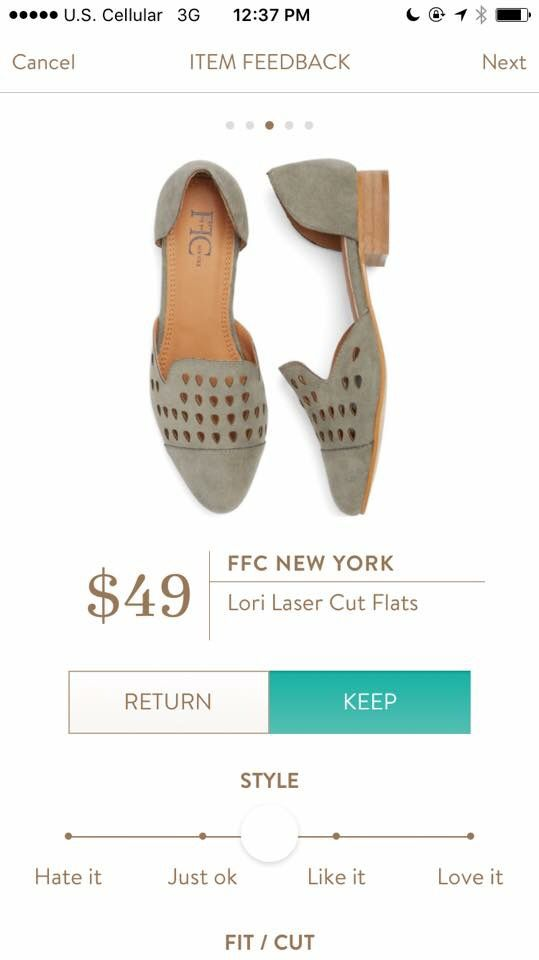 Stitch Fix Stylist: PLEASE send these shoes!