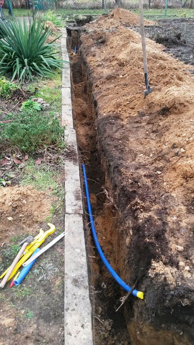 Podłączenie wody na ogródkach działkowych - usługi hydrauliczne