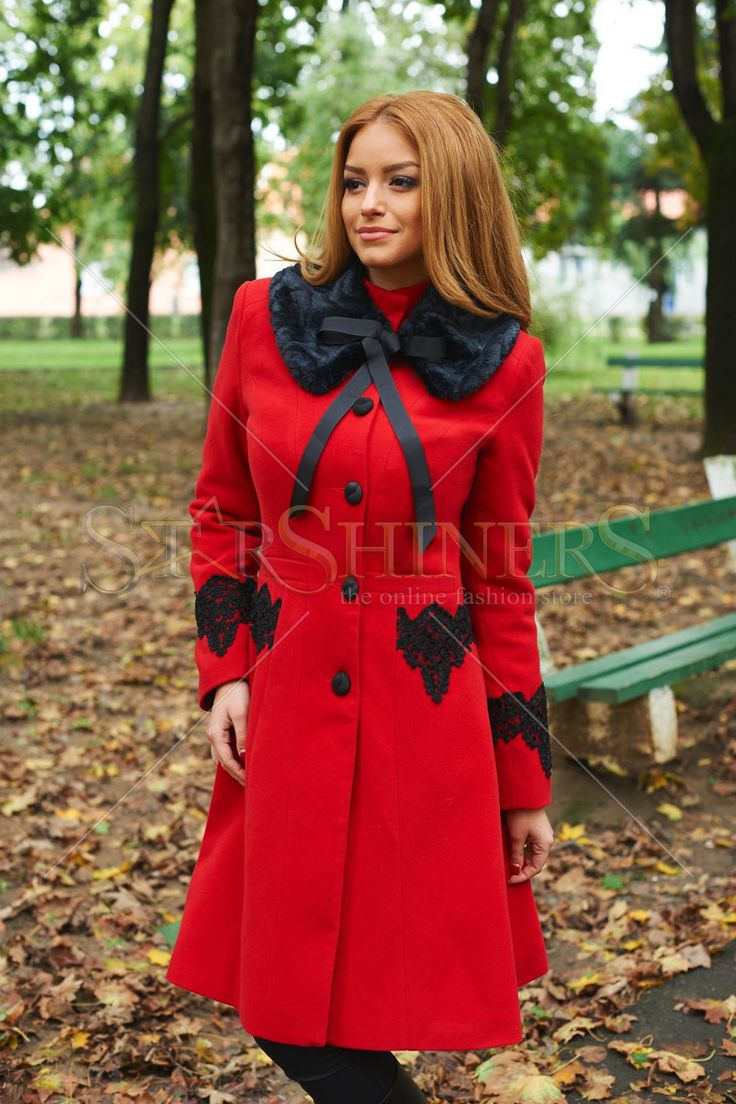 LaDonna Best Impulse Red Coat
