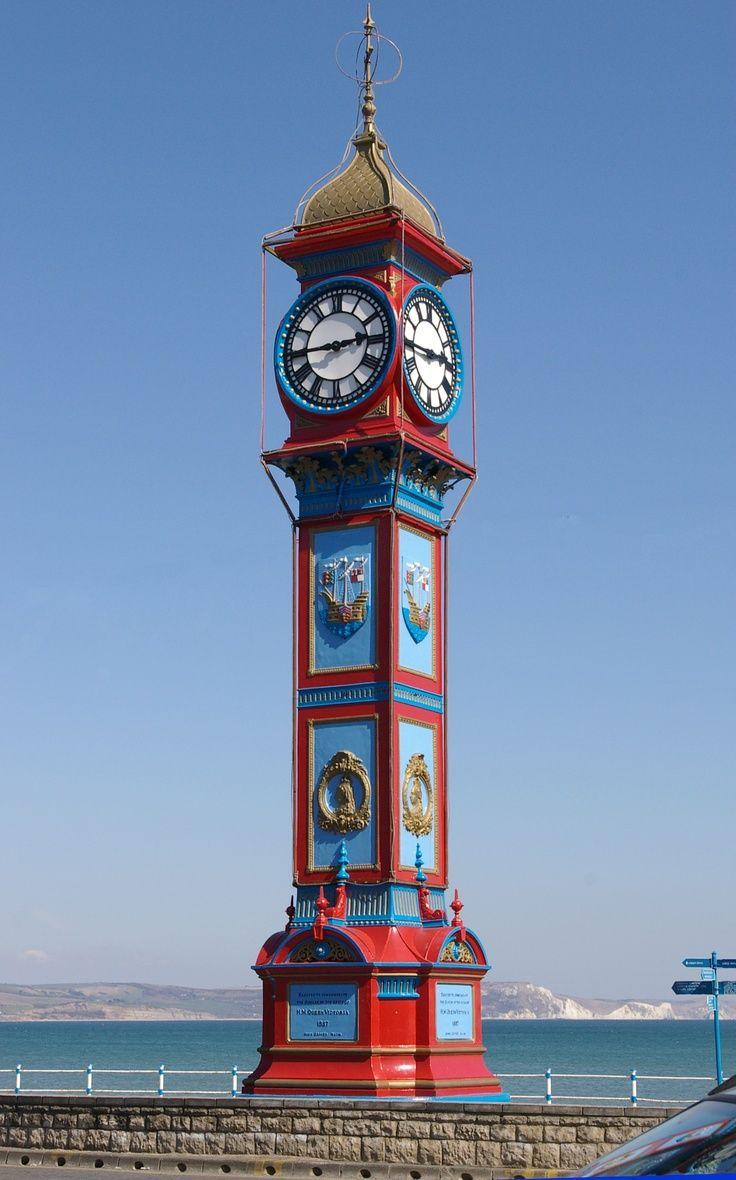 The Jubilee Clock, Weymouth, Dorset