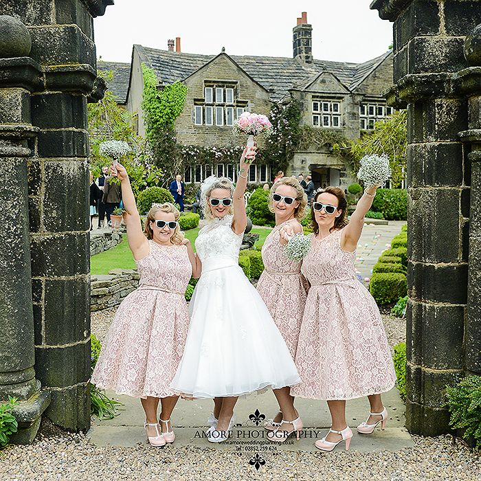 This wedding saw me return to a quirky little venue called Holdsworth House Halifax for wedding photography. My day started with the bride a...