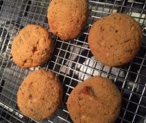 Coconut flour gluten free choc chip cookies