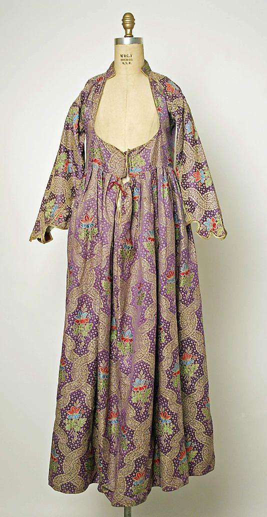 Greece, silk entari, 1875–1925