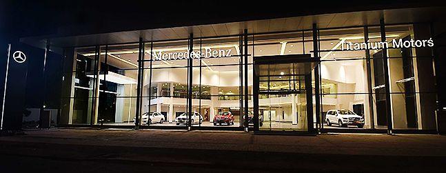Titanium motors - Mercedes Benz dealer at Chennai