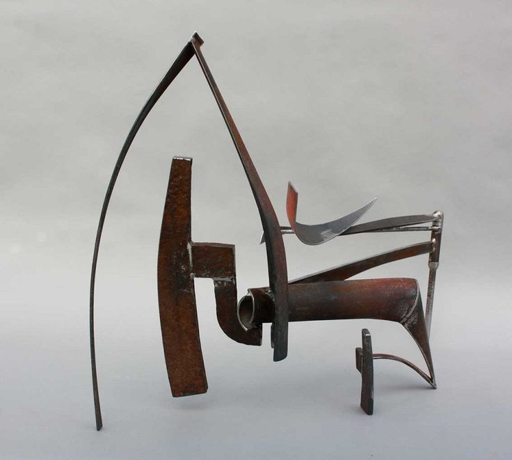 Precursor - forged and welded steel - Simon Gaiger                                                                                                                                                                                 More