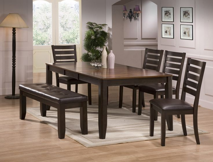 The Crown Mark Elliott Dining Table Set At Local Furniture Outlet Would Be A Great Item To Purchase In Austin Texas