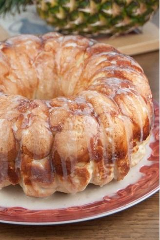 Hawaiian Bubble Bread (1) From: Wishes And Dishes, please visit
