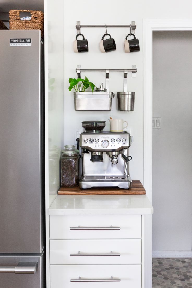 Coffee Station | (Proudly Canadian) House Tour – Sabrina Smelko