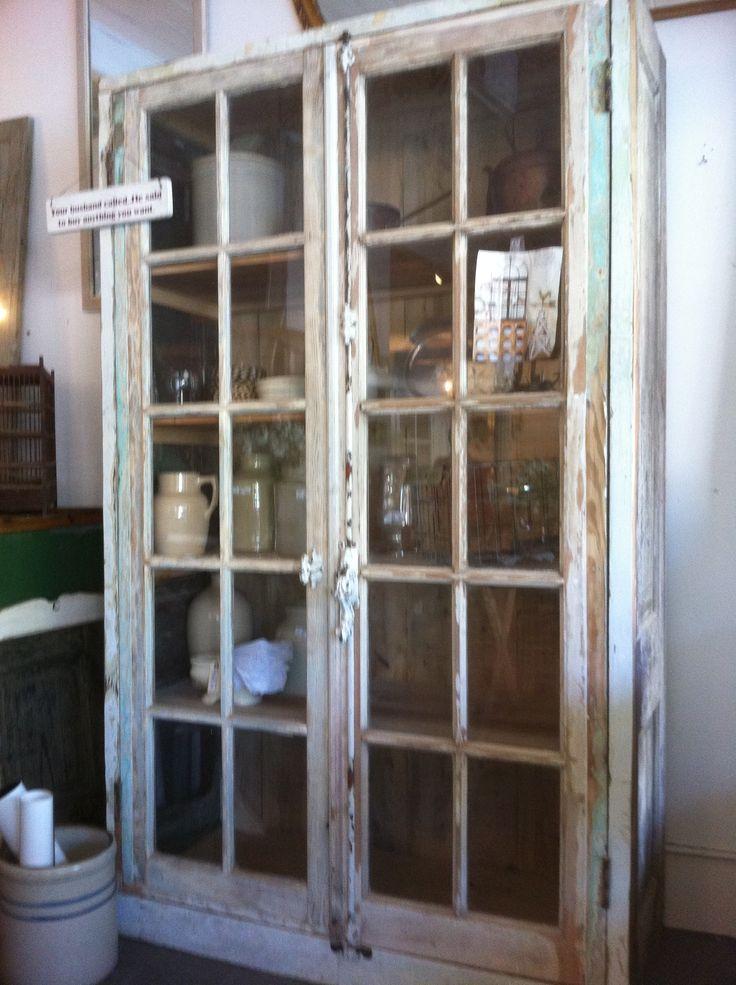 Antique Interior French Doors