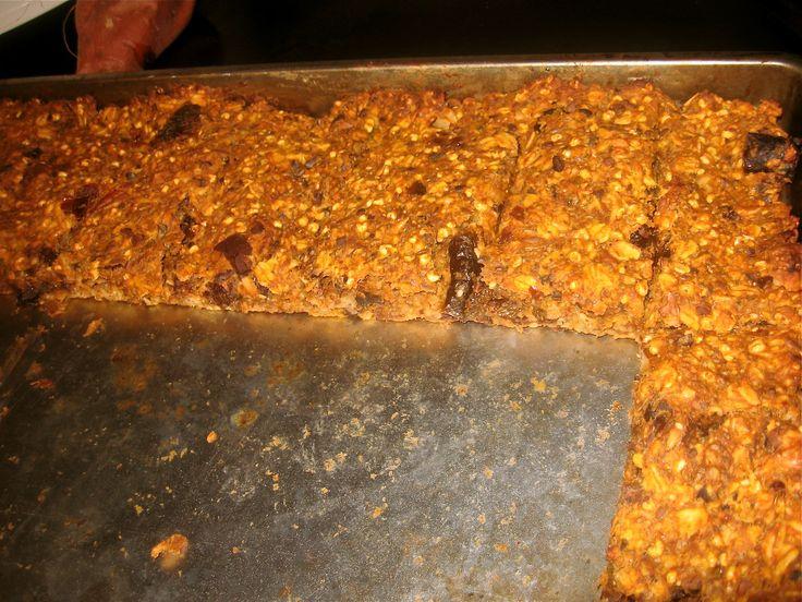 Crazy healthy granola bars- sugar free, gluten free