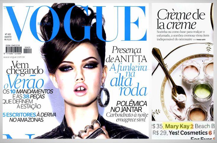 Vogue - Agosto 2013