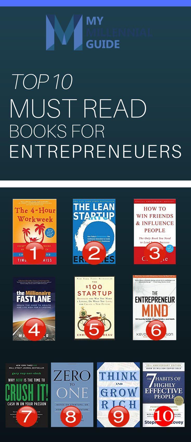 The Best Entrepreneur Books For 2019 Books For Business Books