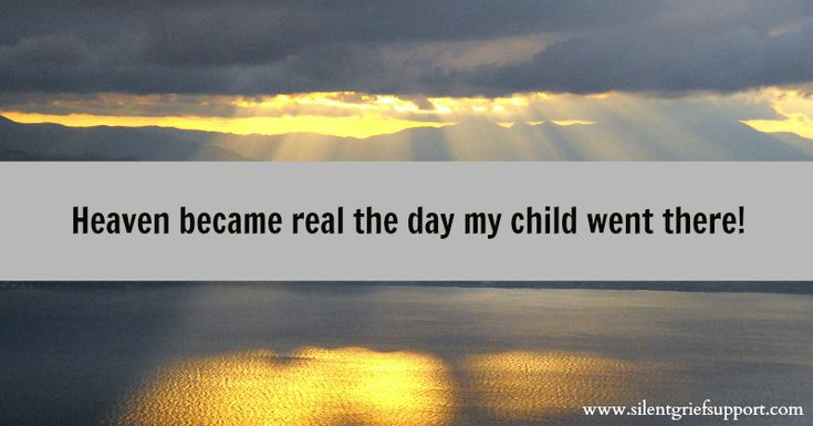| Child Loss: The Day Heaven Became Real | Silent Grief
