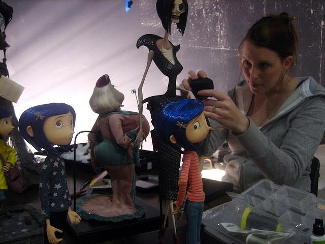 Alcuni puppets di coraline e la porta magica puppets - Coraline e la porta magica film ...