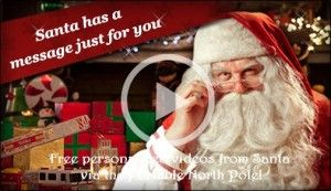 Portable North Pole:The Perfect Way For Your Kids To Hear From Santa! They can get a personalized video or phone call directly from Santa in the North Pole!