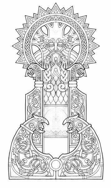 Pin By Fire Fish On рабочий материал Norse Tattoo