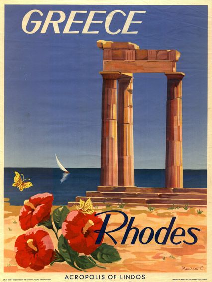 Rhodes, Greece is one of the most amazing places I've been. There is a medieval castle and we have family living inside the castle wall, literally. The castle's walls are wide enough that for hundreds of years, people have made their homes w/in them. Our family has a four room 1st story and at least two rooms on the 2nd, and a lovely back yard w/fruit trees, fire pit and dining area.