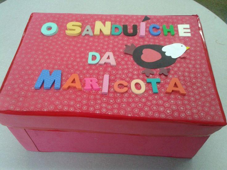 Salas de recursos Escola Classe 01: O sanduíche da Maricota - Fazendo os personagens e contando a história