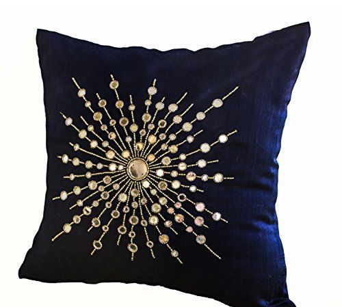 Amore Beaute Handcrafted Premium Navy Blue Silk Pillow Co... http://www.amazon.com/dp/B00N15LB2W/ref=cm_sw_r_pi_dp_mGIuxb1J805XG