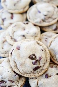 Malted Chocolate Chip Cookie Recipe on twopeasandtheirpod.com #recipe #cookies