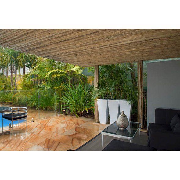 Chippy's Outdoor - Touchwood Latte Poles, Decorative Hardwood Screening and Cladding, Sustainable Eucalyptus