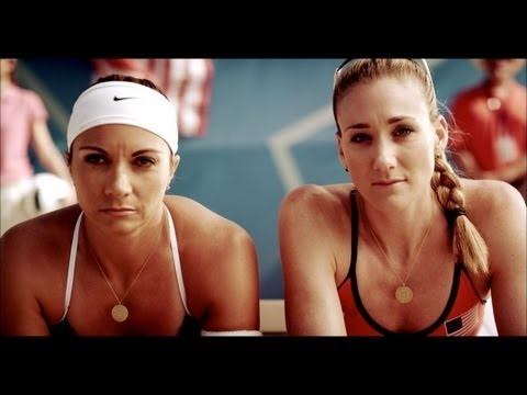COOL short video of Misty May-Treanor and Kerri Lee Walsh Jennings!
