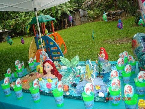 Ariel Birthday Party Ideas