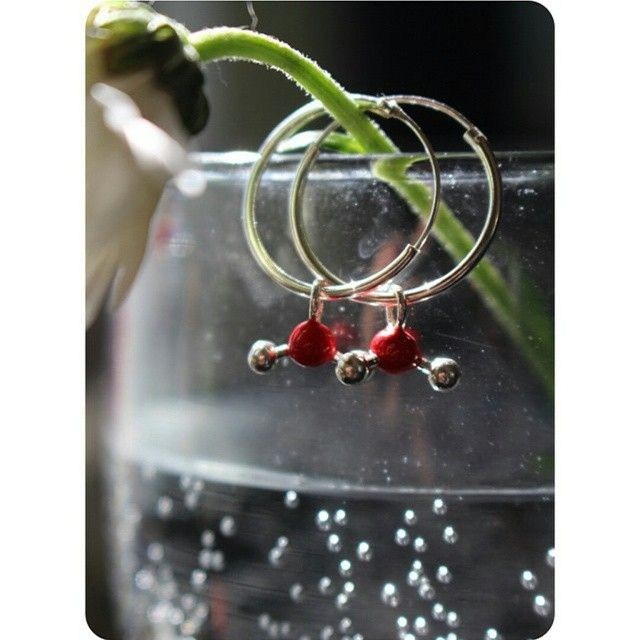 A fun reminder to stay hydrated as the weather gets hotter! Our H2O hoop earrings are a fun treat for any chemistry fan! Wear the elements!