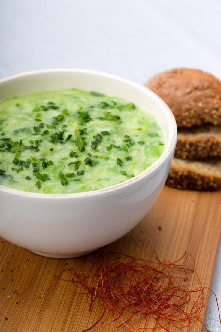 Kalte Suppe - perfekt als erfrischende Vorspeise!