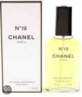 Chanel No. 19 Navulbaar - 50 ml - Eau de Parfum