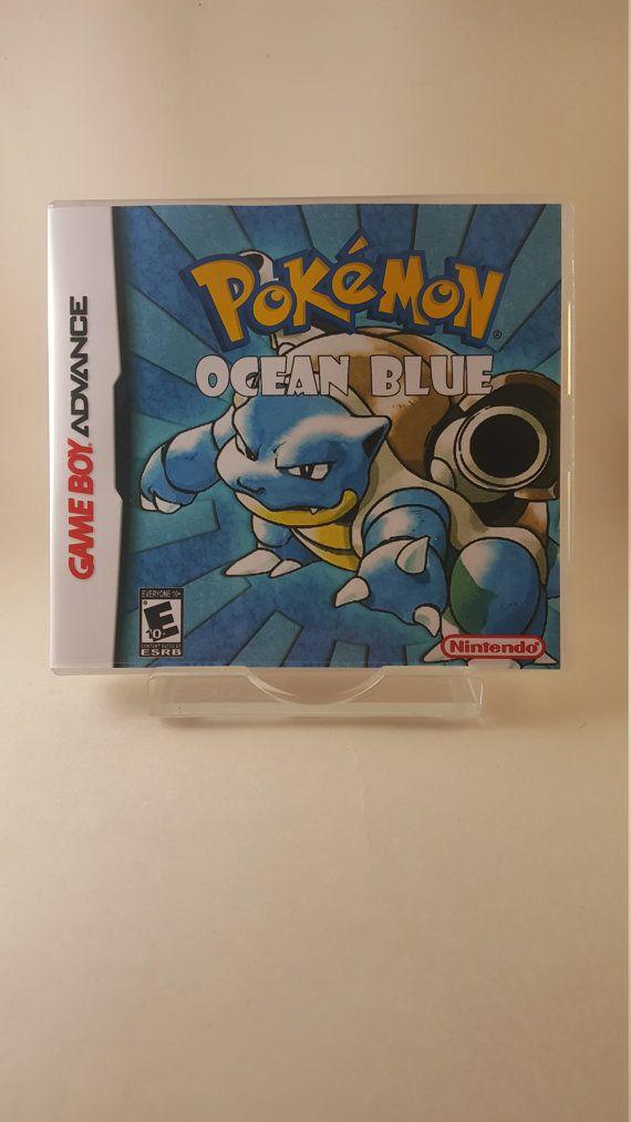 Custom Pokemon Rom Hacks, Ocean Blue