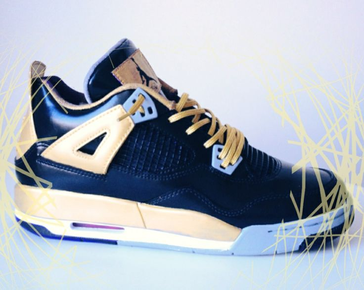 there is just something about the combination of gold black and jordan that makes