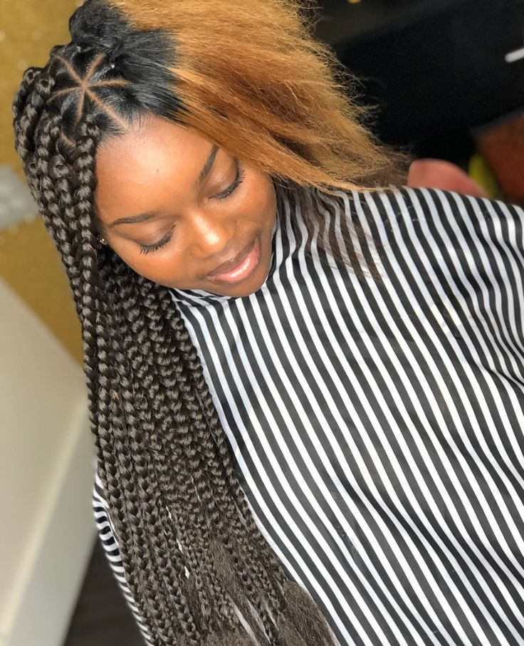 Flawless color tuck via @qthebraider - https://blackhairinformation.com/hairstyle-gallery/flawless-color-tuck-via-qthebraider/
