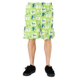 Trendy Green Beach Men's Shorts