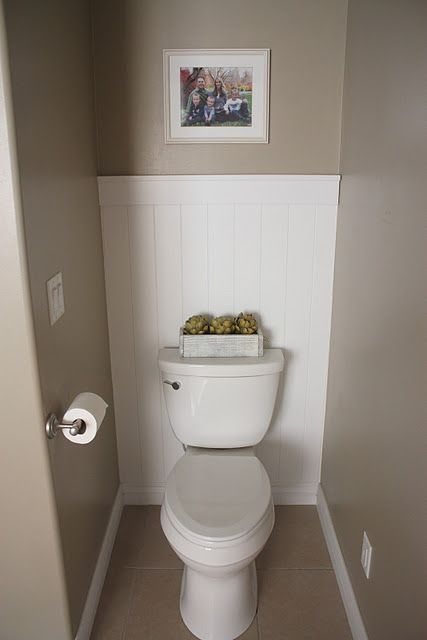 Best 25 bathroom accent wall ideas on pinterest toilet for Toilet room ideas