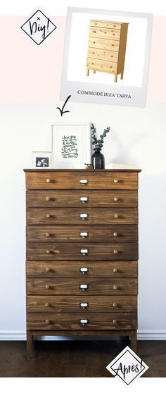 diy ikea tarva hack apothecary westelm anthropologie furniture dupetitdoux