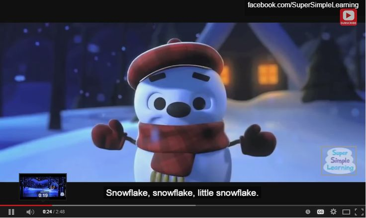 Love this video for winter!