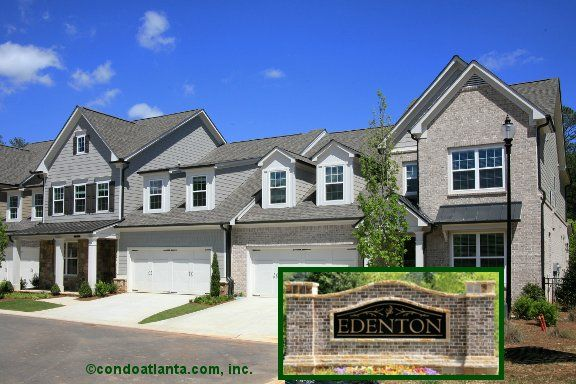 Edenton Is A Gated Community Of Gorgeous Luxury Townhomes Featuring Master On The Main Floor Plans Enjoy A Lovely Hom Luxury Townhomes Atlanta Condo Townhouse
