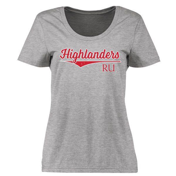 Radford Highlanders Women's American Classic Classic Fit T-Shirt - Ash - $21.99