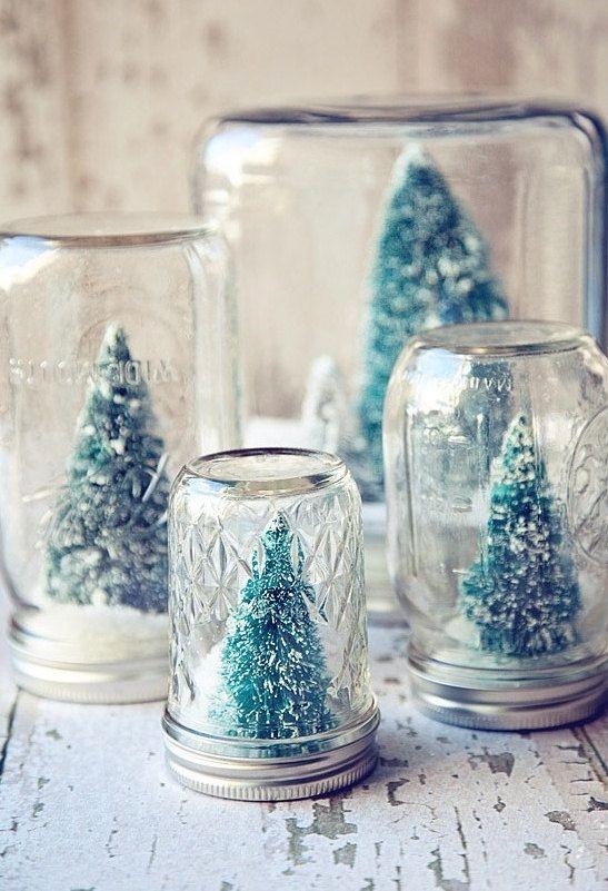 Holiday Snow Globe, via Etsy.