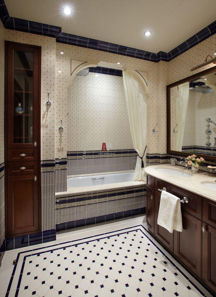 Интерьер квартиры в американском стиле enclosed bath