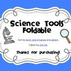 {Science Notebook} - Science Tools Foldable $