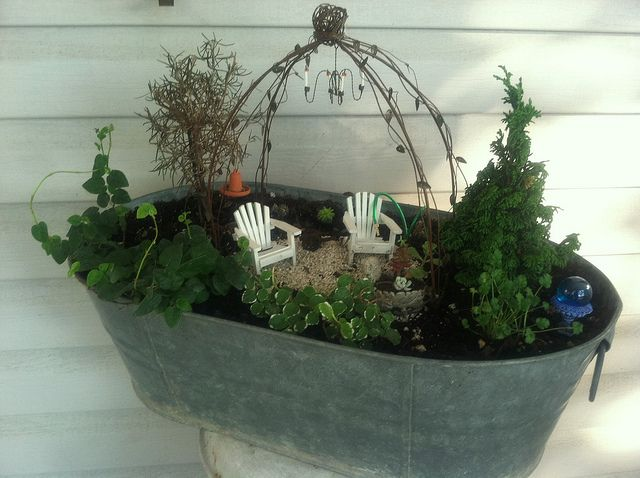 Miniature living garden 017 by Chicory Nits, via Flickr