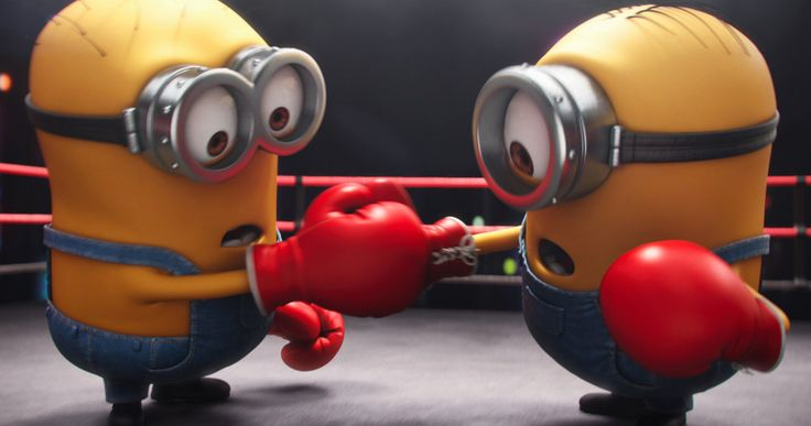 Watch the First 'Minions' Mini-Movie 'The Competition' -- Two Minions compete in a series of escalating games in the first of three all-new 'Minions' mini-movies arriving December 8 with the Blu-ray. -- http://movieweb.com/minions-short-competition-mini-movie/