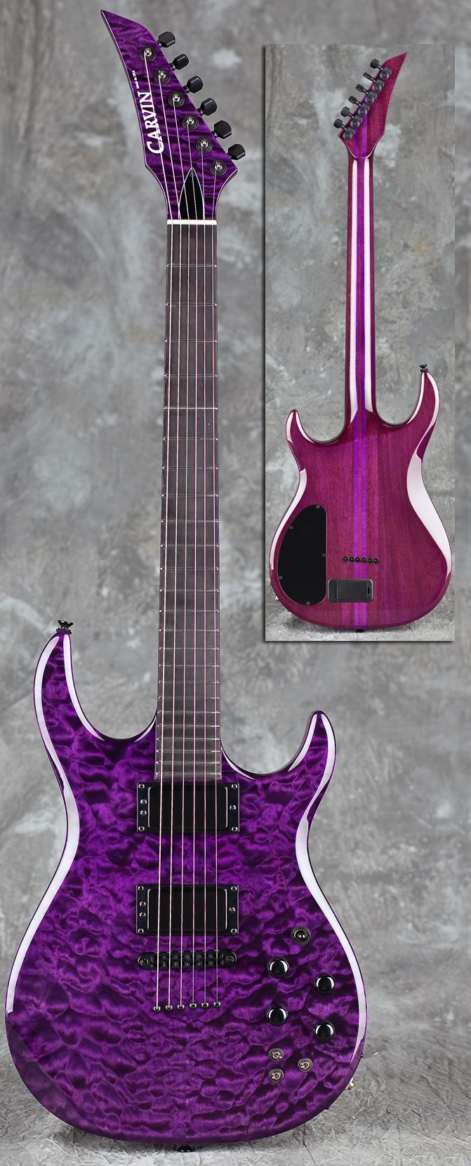 I have a thing for Purple guitars!